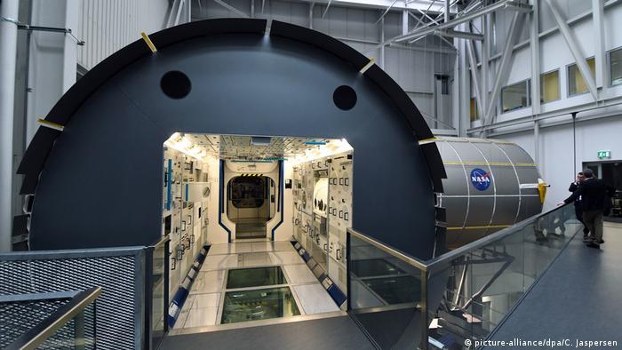 Weltraumlabor - Columbus (picture-alliance/dpa/C. Jaspersen)