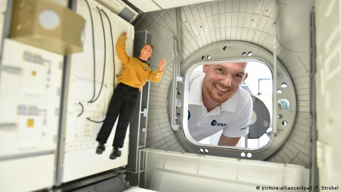 Weltraumlabor - Columbus (picture-alliance/dpa/J.-P. Strobel)