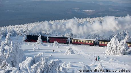 BdT Winter auf dem Brocken (picture-alliance/dpa/K.-D. Gabbert)
