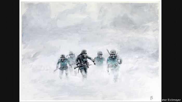 ілюстрація Петера Айкмайера Туман