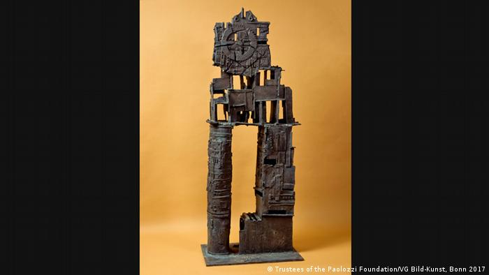 Eduardo Paolozzi Sculptur 'His Majesty the Wheel', 1958–1959 (Trustees of the Paolozzi Foundation/VG Bild-Kunst, Bonn 2017)