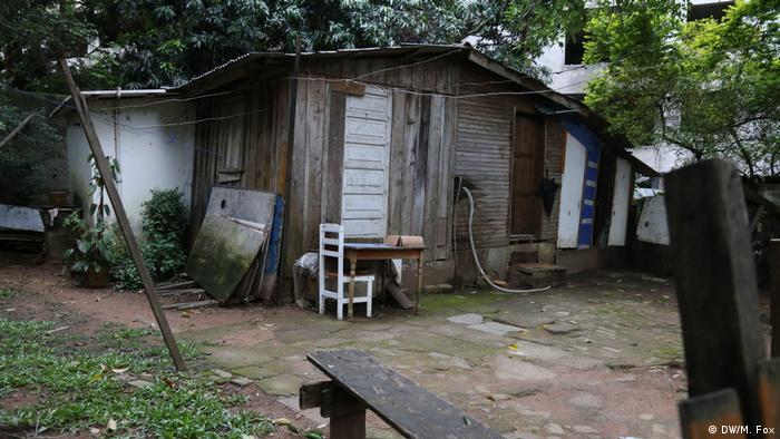 A home on the Sliva Family Quilombo in Porto Alegre, Brazil