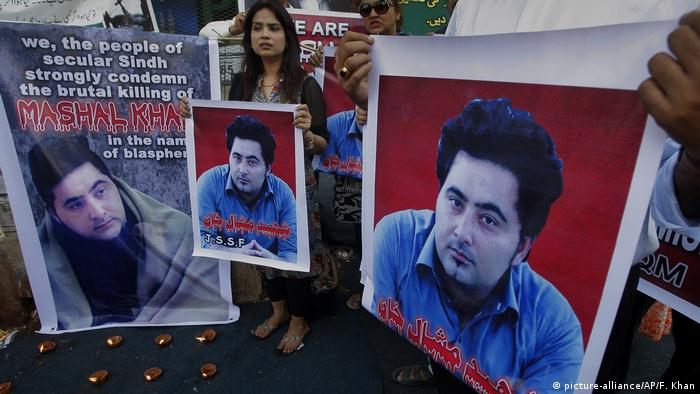 Pakistan Proteste nach Lynchmord Student Mashal Khan