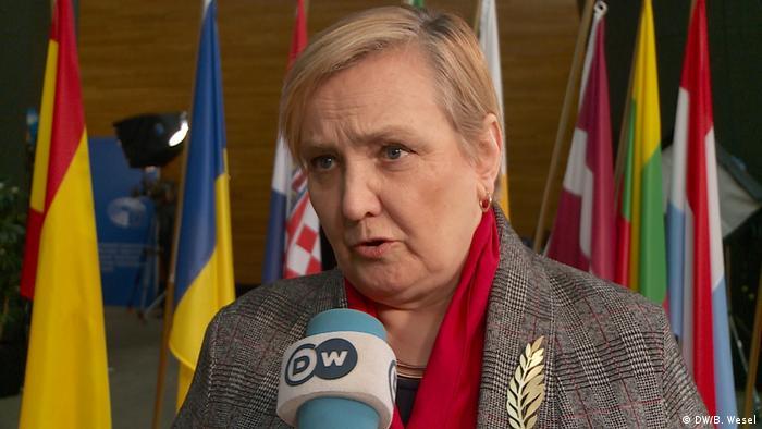 Frankreich Straßburg - Roza von Thun und Hohenstein, polnische Europaabgeordnete