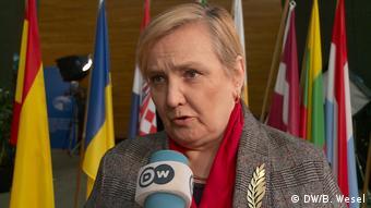 """Europosłanka Róża Thun: """"Stworzyliśmy prawdziwą strefę Schengen dla zakupów"""" (DW/B. Wesel)"""