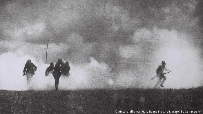 The western front in WWI