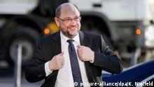 Koalitionsverhandlungen von Union und SPD Martin Schulz