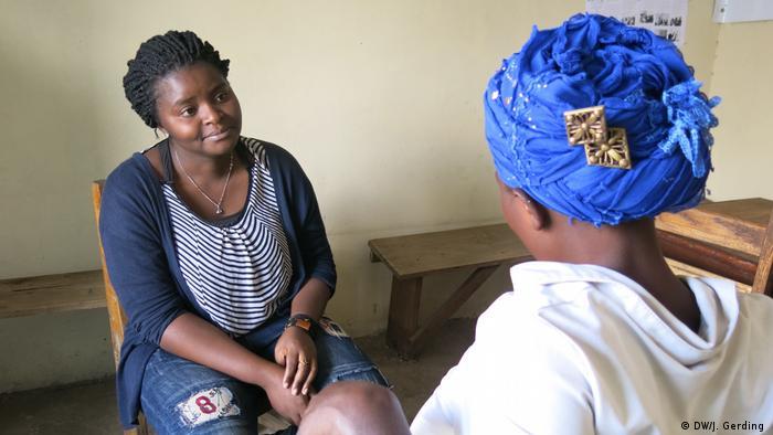 Congo aid organization Aidprofen (DW/J. Gerding )