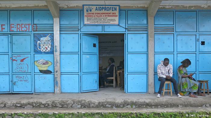 DRC aid organization Aidprofen in north Kivu province(DW/J. Gerding )