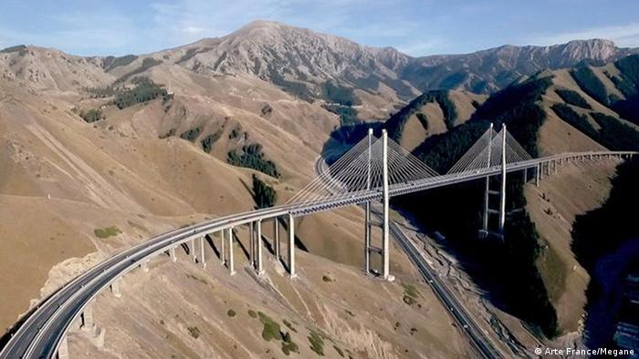 A Chinese-financed bridge project