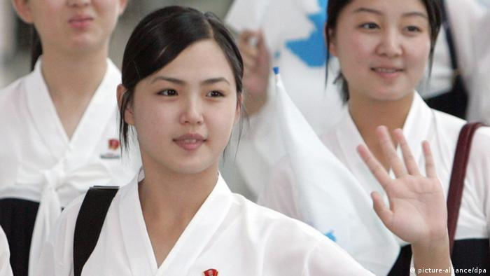 Asian Athletics Championships Ri Sol-ju Frau von Kim Jong-un (picture-alliance/dpa)