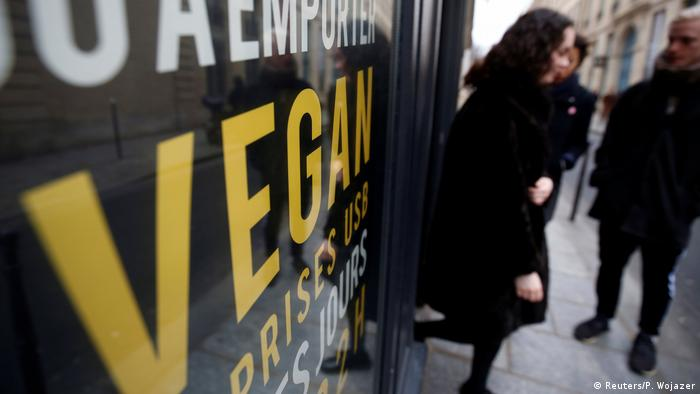 Frankreich Paris Hank Burger Vegan-Restaurant