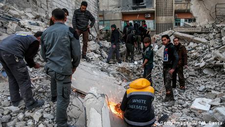 Syrien Krieg - Ostghuta bei Damaskus (Getty Images/AFP/A. Eassa)