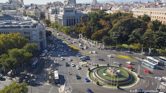 Spanien Madrid Plaza De La Cibeles