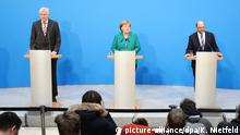 Abschlup PKmKoalitionsverhandlungen von Union und SPD