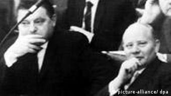 Deutschland Geschichte Kultur Presse Spiegel-Affäre 1962 Bundestag