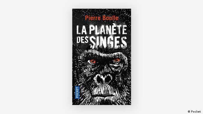 The cover of the book La Planete des Singes by Pierre Boulle (Pocket )