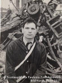 A photo of Eduardo Paolozzi