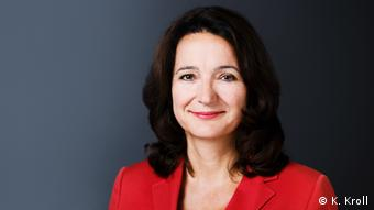 Katharina Kroll, DW-Politica
