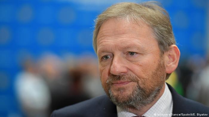Russland Boris Titov, Präsidentschaftskandidat Partei Wachstum (picture-alliance/Sputnik/E. Biyatov)