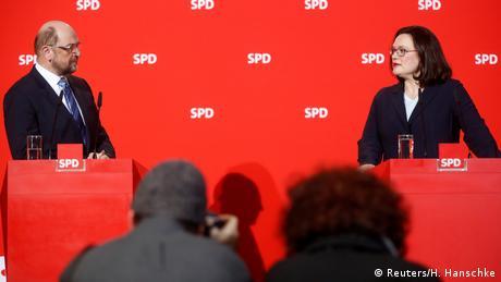 DW: Αλλαγή σκυτάλης στους Σοσιαλδημοκράτες