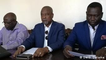 Direktion PRS Partei von Guiné-Bissau (DW/B. Darame)