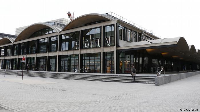 Station F headquarters in Paris (DW/L. Louis)