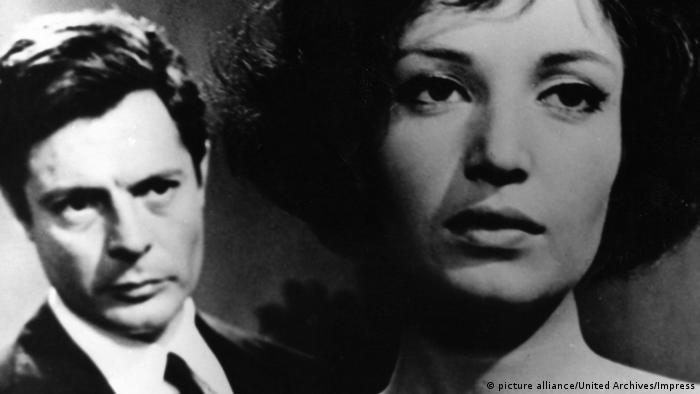Marcello Mastroianni und Jeanne Moreau in Die Nacht (picture alliance/United Archives/Impress)