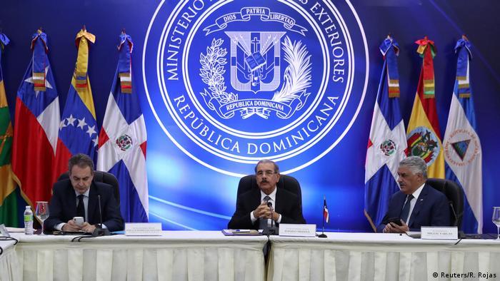 Dominikanische Republik | Annäherung zwischen Regierung und Opposition Venezuelas (Reuters/R. Rojas)