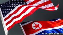 Flaggen USA Nordkorea