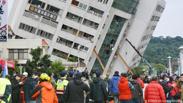 Erdbeben in Taiwan (picture-alliance/dpa/kyodo)