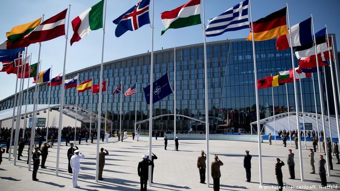 Штаб-квартира НАТО в Брюсселе (фото из архива)