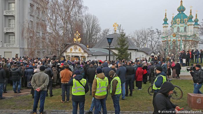 Скандальний храм УПЦ МП у історичному центрі Києва