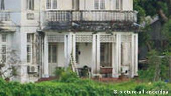 Suu Kyis Villa in Rangun (Foto: dpa)