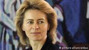Archive photo of Ursula von der Leyen, who is now labour minister