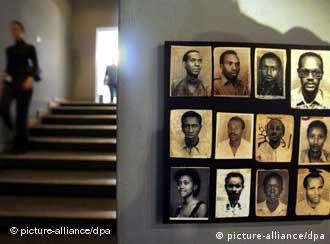 O Memorial de Gisozi, nas proximidades de Kigali, lembra as vítimas do genocídio de Ruanda