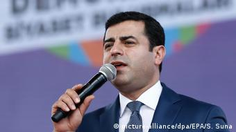 Türkei HDP-Vorsitzende Selahattin Demirtas