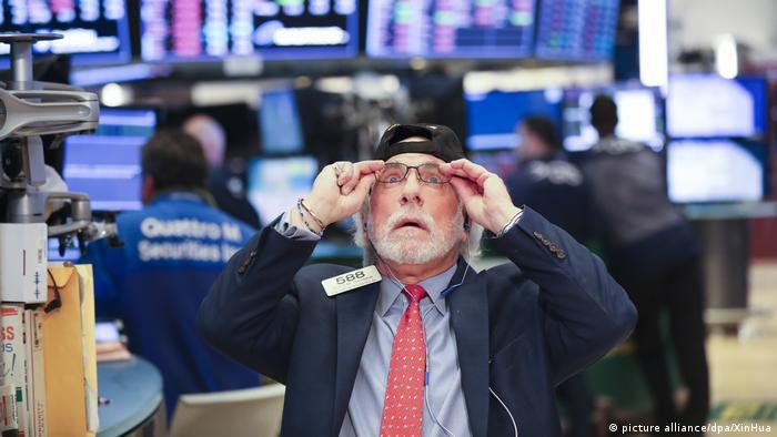 USA Wall Street - Finanzmärkte in Panik (picture alliance/dpa/XinHua)EP