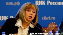 Russland Präsidentswahlen | Vorsitzender der Wahlkomission Ella Pamfilova
