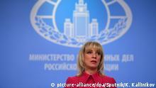 Russland Präsidentswahlen | Außenministerin Maria Zakharova