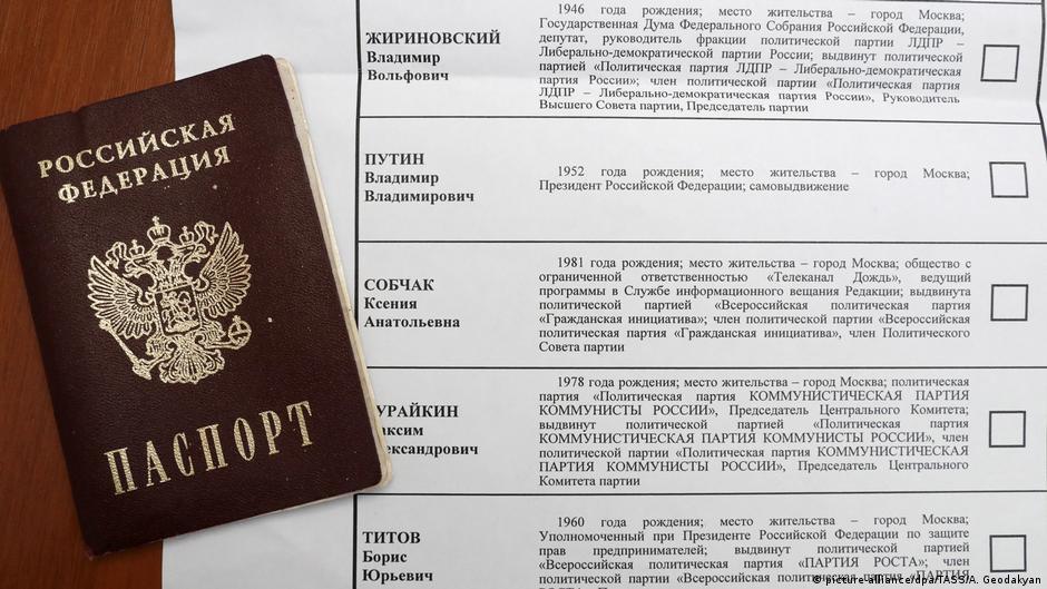 Rusia voton  Vladimir Putin dhe shtatë rivalët e parrezikshëm