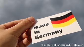 Надпись Made in Germany