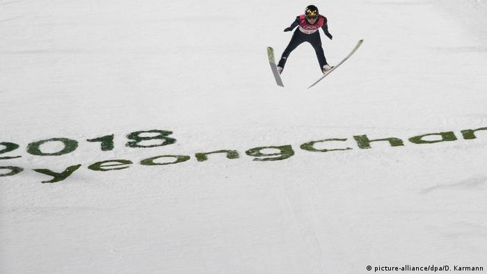Südkorea Pyeongchang 2018 | Skispringen (picture-alliance/dpa/D. Karmann)