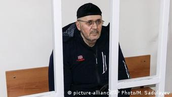 Oyub Titiyev in prison (picture-alliance/AP Photo/M. Sadulayev)