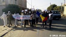 Tschad Demonstrationen