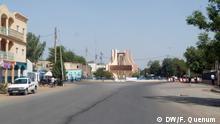 Tschad Straßenszene in Ndjamena