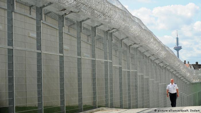 Deutschland Gefängnis in Frankfurt