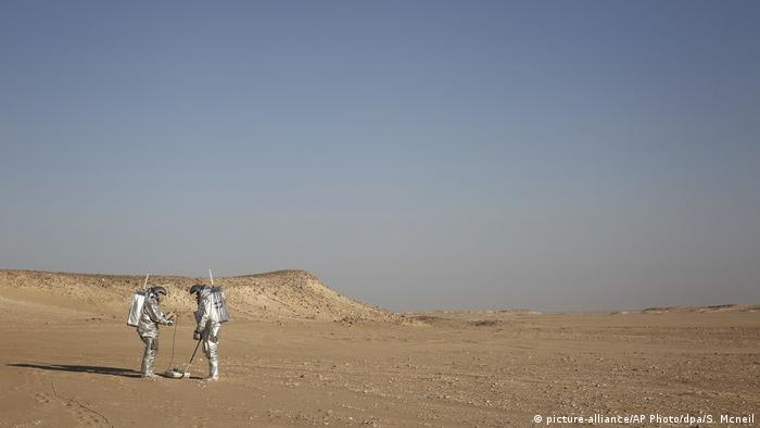 In Oman's Dhofar desert, European team simulates Mars on Earth