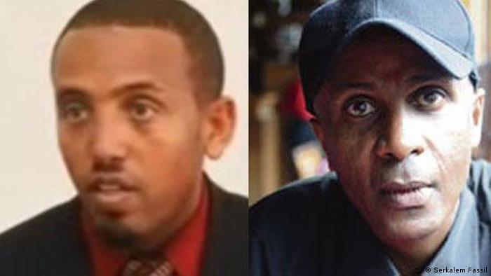 Äthiopien Eskindr Nega und Andualem Arage