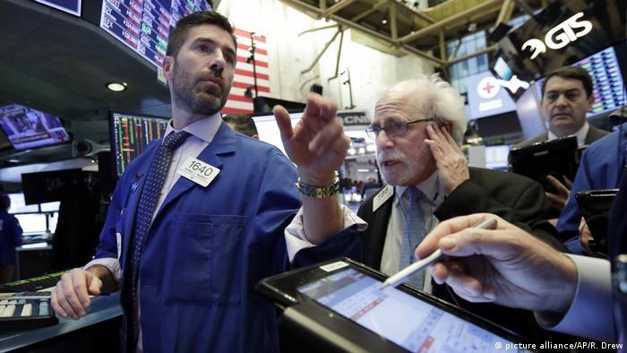 Operadores da Bolsa de Valores de Nova York